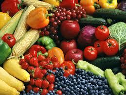fruis and veggies